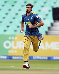 Corne Dry of the VKB Knights during the T20 Challenge cricket match between the Hollywoodbets Dolphins and VKB Knights  at the Kingsmead stadium in Durban, KwaZulu Natal, South Africa on the 11 Dec 2016<br /> <br /> Photo by:   Steve Haag / Real Time Images