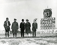 1920 Thomas Ince & others at Ince Field at Venice Blvd. & Mildred Ave.