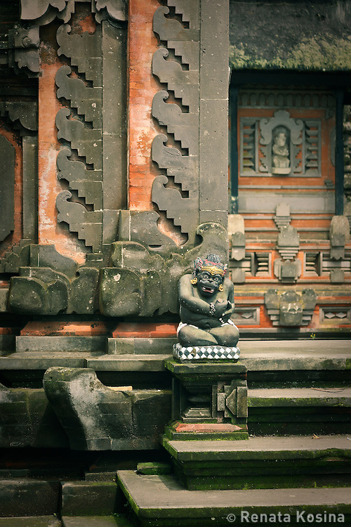 Balinese temple architecture in Pura Ulun Danu Batur is not only visual feast for the eyes but also a lesson in Hindu mythology