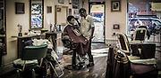 Levels Barber Shop, Fulton Street, Brooklyn, NY