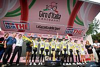 Sykling<br /> Giro di Italia<br /> 09.05.2009<br /> Foto: Photonews/Digitalsport<br /> NORWAY ONLY<br /> <br /> Lido di Venezia - Italia- wielrennen - cycling - radsport - cyclisme - 1e etappe ploegentijdrit Ronde van Italie - 110 jaar Giro di Italia - Team Columbia High Road