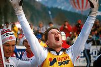Kombinert<br /> Verdensmesterskap 1987<br /> Foto: imago/Digitalsport<br /> NORWAY ONLY<br /> <br /> 20.02.1987 <br /> <br /> Weltmeister Torbjørn Løkken - Norge