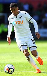 Martin Olsson of Swansea City in action -Mandatory by-line: Nizaam Jones/JMP- 13/05/2018 - FOOTBALL - Liberty Stadium - Swansea, Wales - Swansea City v Stoke City - Premier League
