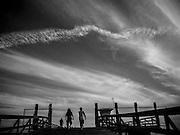 The pier at Seacliff State Beach, Aptos, California