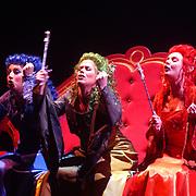 Premiere musical Doornroosje, 3 feeen, Wietske van Tongeren, Kirsten Cools, Silvia Robbemont