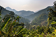 Mountain scenery in the remote areas of Manipur, India