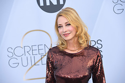 January 27, 2019 - Los Angeles, California, U.S - SHARON LAWRENCE during silver carpet arrivals for the 25th Annual Screen Actors Guild Awards, held at The Shrine Expo Hall. (Credit Image: © Kevin Sullivan via ZUMA Wire)