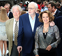 Michael Gambon, Michael Caine, Francesca Annis, King of Thieves - World Premiere, Leicester Square, London, UK, 12 September 2018, Photo by Richard Goldschmidt