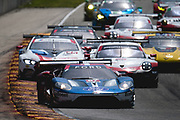 August 5 2018: IMSA Weathertech Continental Tire Road Race Showcase. 67 Ford Chip Ganassi Racing, Ford GT, Ryan Briscoe, Richard Westbrook