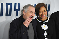 NEW YORK, NY - DECEMBER 13: Robert De Niro, Grace Hightower attends the premiere of 'Joy' at Ziegfeld Theater on December 13, 2015 in New York City....People:  Robert De Niro, Grace Hightower. (Credit Image: © SMG via ZUMA Wire)