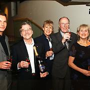 Premiere Lied in de Schemering, Herman Goddijn, Anne Wil Blankers, Willem Nijholt en Pleunie Touw en Ton Lutz
