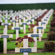 The National Cemetery of Rancourt is the largest French cemetery in Somme with 8566 graves.