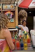 Shave Ice Stand, Waikiki, Honolulu, Oahu, Hawaii