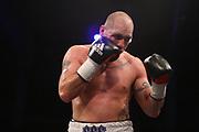 BOXEN: Friday Night Boxing, WBO-Intercontinentameisterschaft, Cruisergewicht, Hamburg, 15.10.2016<br /> Noel Gevor (GER) - Stephen Simmons (GBR)<br /> © Torsten Helmke