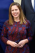 Het nieuwe kabinet Rutte III op het bordes van Paleis Noordeinde. <br /> <br /> Op de foto:  vicepremier Carola Schouten - minister van Landbouw, Voedselveiligheid en Regio