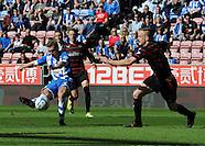Wigan Athletic v Reading 180414