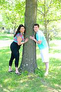 LAHASKA, PA - MAY 13: Lily and Tom are photographed May 13, 2012 at Peddler's Village in Lahaska, Pennsylvania. (Photo by William Thomas Cain/Cain Images)