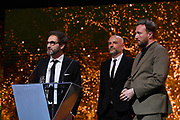 Brussels , 01/02/2020 : Les Magritte du Cinema . The Academie Andre Delvaux and the RTBF, producer and TV channel , present the 10th Ceremony of the Magritte Awards at the Square in Brussels .<br /> Pix: Bart Van Langendonck; Tim Mielants; Jacques-Henri Bronckart<br /> Credit : Alexis Haulot - Dana Le Lardic - Didier Bauwerarts - Frédéric Sierakowski - Olivier Polet / Isopix