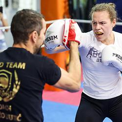 "20210630: SLO, Boxing - Practice session of Ema ""The Princess"" Kozin"