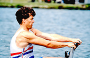 Henley. England, 1989 Henley Royal Regatta, River Thames, Henley Reach,  [© Peter Spurrier/Intersport Images],  The Queen Mother  Challenge Cup, Bow Richard STANHOPE, Rory HENDERSON, Martin CROSS, Chris ANDREWS,