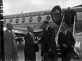 1957 Arrival of Lord Packenham