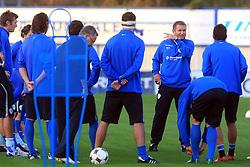 Head coach of Slovenia Matjaz Kek at practice of Slovenian men National team, on October 13, 2008, in Domzale, Slovenia.  (Photo by Vid Ponikvar / Sportal Images)