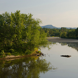 The Connecticut River in Guildhall, Vermont.
