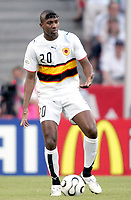 Fotball<br /> VM 2006<br /> Foto: Dppi/Digitalsport<br /> NORWAY ONLY<br /> <br /> FOOTBALL - WORLD CUP 2006 - STAGE 1 - GROUP D - ANGOLA v PORTUGAL - 11/06/2006 - MANUEL LOCO (ANG)