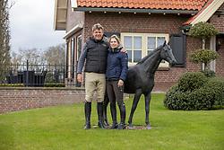 Dubbeldam Jeroen, Vorsselmans Annelies<br /> Stal De Sjiem - Weerselo 2021<br /> © Hippo Foto - Dirk Caremans<br /> 07/04/2021
