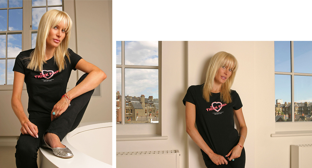 Normandie Keith<br /> Wear it pink<br /> Breast Cancer Campaign