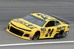March 1, 2019 - Las Vegas, NV, U.S. - LAS VEGAS, NV - MARCH 01: William Byron (24) Hendrick Motorsports Chevrolet Camaro ZL1 drives through turn four during practice for the Monster Energy NASCAR Cup Series 22nd Annual Pennzoil 400 on March 1, 2019, at the Las Vegas Motor Speedway in Las Vegas, Nevada. (Photo by Michael Allio/Icon Sportswire) (Credit Image: © Michael Allio/Icon SMI via ZUMA Press)