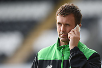 10/07/15 PRE-SEASON FRIENDLY<br /> CELTIC v REAL SOCIEDAD<br /> ST MIRREN PARK - PAISLEY<br /> Celtic manager Ronny Deila arrives at St Mirren Park