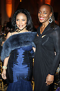 l to r: Lynn Whitefield and Susan Taylor at The Fifth Annual Grace in Winter Gala honoring Susan Taylor, Kephra Burns, Noel Hankin and Moet Hennessey USA and benfiting The Evidence Dance Company held at The Plaza Hotel on February 3, 2009 in New York City.
