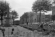 View of Cork City. The Memorial Park on the South Mall..26.05.1962
