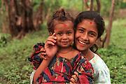 Two Nepali sisters