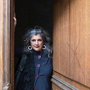 Piccolo Teatro Grassi, Milano, Italia, 9 Aprile 2021. Ivana Trettel, 54 anni, regista di Opera Liquida.