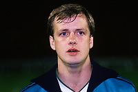 Colin Clarke, footballer, Bournemouth FC & N Ireland, 19860308CC.<br /> <br /> Copyright Image from Victor Patterson, Belfast, UK<br /> <br /> t: +44 28 9066 1296 (from Rep of Ireland 048 9066 1296)<br /> m: +44 7802 353836<br /> e: victorpattersonbelfast@gmail.com<br /> <br /> www.images4media.com<br /> <br /> Please see my full Terms and Conditions of Use at https://www.images4media.com/p/terms-conditions - it is IMPORTANT that you familiarise yourself with them.<br /> <br /> Images used online incur an additional cost. This cost should be agreed in writing in advance. Online images must be visibly watermarked i.e. © Victor Patterson or that of the named photographer within the body of the image. The original metadata must not be deleted from images used online.<br /> <br /> This image is only available for the use of the download recipient i.e. television station, newspaper, magazine, book publisher, etc, and must not be passed on to a third party. It is also downloaded on condition that each and every usage is notified within 7 days to victorpattersonbelfast@gmail.com.<br /> <br /> The right of Victor Patterson (or the named photographer) to be identified as the author is asserted in accordance with The Copyright Designs And Patents Act (1988). All moral rights are asserted.
