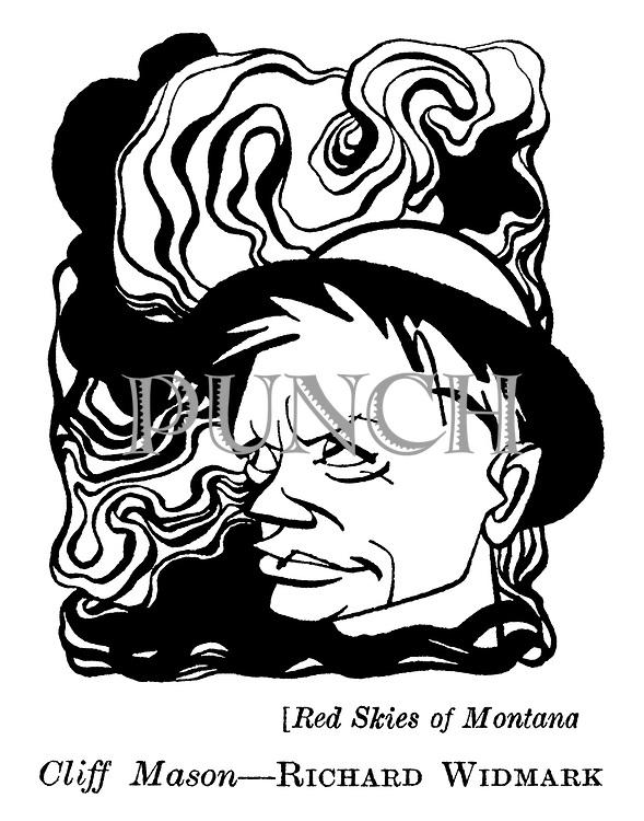 Red Skies of Montana ; Richard Widmark