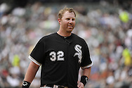 CHICAGO - MAY 22:  Adam Dunn #32 of the Chicago White Sox looks on against the Los Angeles Dodgers on May 22, 2011 at U.S. Cellular Field in Chicago, Illinois.  The White Sox defeated the Dodgers 8-3.  (Photo by Ron Vesely)  Subject:   Adam Dunn