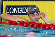 Mcc0055084 . Daily Telegraph<br /> <br /> England's Francesca Halsall won Gold in the Women's 50m Butterfly at the Tollcross Swimming centre on day 4 of the 2014 Commonwealth Games in Glasgow .<br /> <br /> 27 July 2014