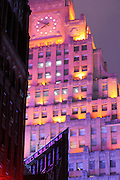 Paramount Building in Times Square, New York City, New York, USA