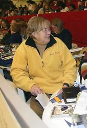 Susan Lannigan Okeefe<br />KWPN hengstenkeuring 2003<br />Photo © Dirk Caremans