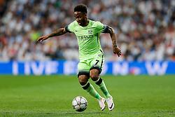 Raheem Sterling of Manchester City in action - Mandatory byline: Rogan Thomson/JMP - 04/05/2016 - FOOTBALL - Santiago Bernabeu Stadium - Madrid, Spain - Real Madrid v Manchester City - UEFA Champions League Semi Finals: Second Leg.