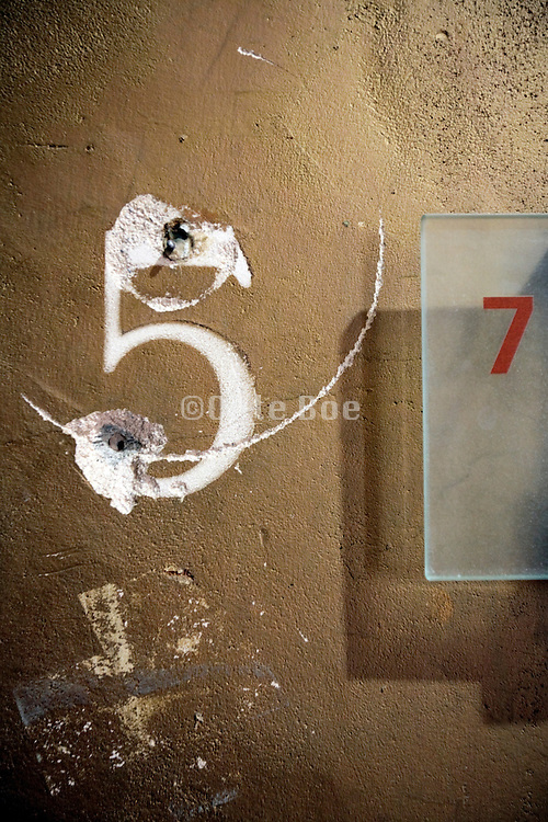 numbers five and seven