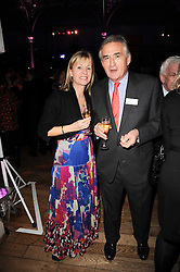 KATE MOSSE and ANTHONY BEEVOR at the annual Orion Publishing Group's Author party held in the Paul Hamlyn Hall, The Royal Opera House, Covent Garden, London on 22nd February 2010.