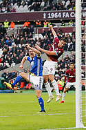 GOAL 2-0 West Ham United forward Andy Carroll (9) heads in West Ham United's second during the The FA Cup 3rd round match between West Ham United and Birmingham City at the London Stadium, London, England on 5 January 2019.