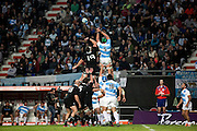 27.09.2014. Lineout. Test Match Argentina vs All Blacks during the Rugby Championship at Estadio Único de la Plata, La Plata, Argentina.