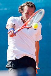 Boy Westerhof (NED) during a tennis match against the Aljaz Bedene (SLO) in 1st round of singles at 24 ATP Vegeta Croatia Umag 2013, on July 23, 2013, in Umag, Croatia. (Photo by Urban Urbanc / Sportida)