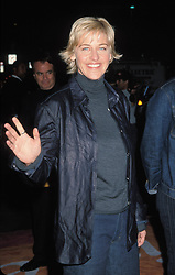 Oct 12, 2000 - Los Angeles, CA, USA - American actress and stand-up comedian ELLEN LEE DEGENERES (born January 26, 1958) at the Women Rock! Breast Cancer Awareness Concert (Credit Image: © Kathy Hutchins/ZUMA Press)