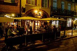 Late night street scene in the Place des Carmes, Toulouse, France<br /> <br /> (c) Andrew Wilson | Edinburgh Elite media